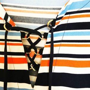 Michael Kors Tops - Michael Kors Lace Up Tunic